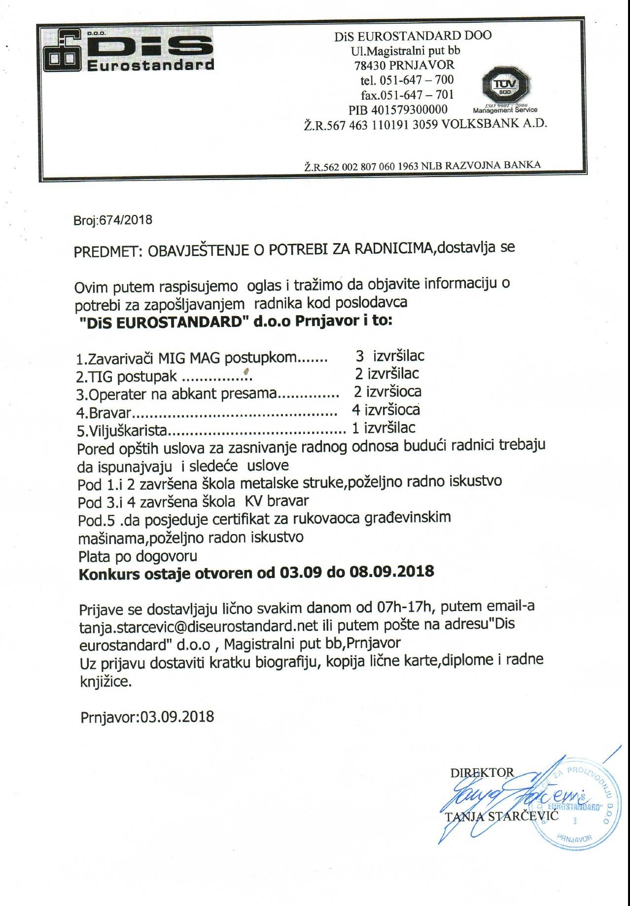 """Podnesen izvještaj protiv direktora """"Ribnjaka"""" u Prijedoru"""
